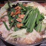 27966072 - 炙りもつ鍋しょうゆ味