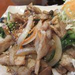かみ村 - 豚肉しょうが焼2014/06