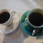 茶房はな - 料理写真:コロンビアと、はなブレンド