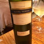 馬車にのったモッツァレッラ - ワイン2