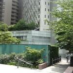 イルキャンティ 大崎 - 大崎駅からThinkParkタワーの裏側