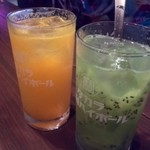 蜆楽檸檬 - 生フルーツたっぷりのハイボール