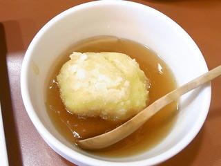 Zeal - お昼ご飯¥900のとうもろこし饅頭☆♪