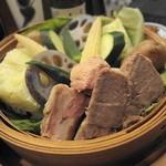 松まつもと - 豚をタップリのおやさいと蒸したモノ ☆3.6