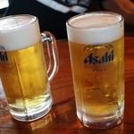 くろ吉 - 生ビール600円