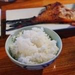 くろ吉 - 料理写真:締めのごはん200円