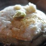 暁山 - 粗挽き粉蕎麦がき@2009/10/17