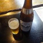 まや徳 - ビール500円+税
