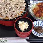 27971366 - 高遠蕎麦&ミニソースかつ丼