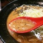 麺屋 風迅 - スープ