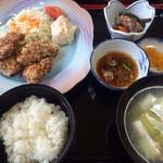 てうり亭 - ザンギ定食 900円