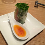 西安健菜キッチン - 生春巻き