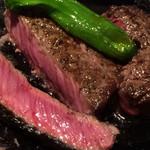 肉屋の肉料理 みずむら - ランチステーキ¥1100