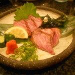 与志乃 - 三角バラのタタキ。甘くて美味しい!
