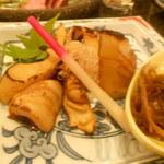 与志乃 - 八竹の醤油炒め