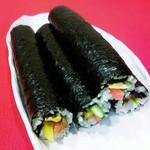 デリカMELE - 料理写真:子供からお年寄りまで幅広く大人気の韓国のり巻き♪