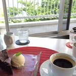 cafe smile - ケーキセット800円
