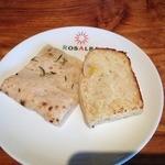 ロザルバ - パスタについてくるパン
