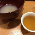 27982886 - ほとんど飲んじゃいましたそば湯と、そば茶
