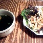 伽倻廊 - サラダ&スープ(2014.5)