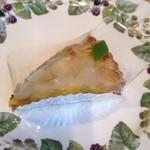 ケーキ工房七つの水仙 - 洋梨のタルト
