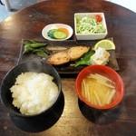 深川日和 - サワラ味噌漬け焼き