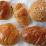 キャッスルベーカリー - 朝食っぽいセット