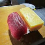 高長寿司 - 料理写真:最初の2貫