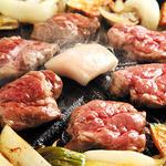 レストラン Tera - 生ラムジンギスカン¥980 (追加・生ラム¥600)