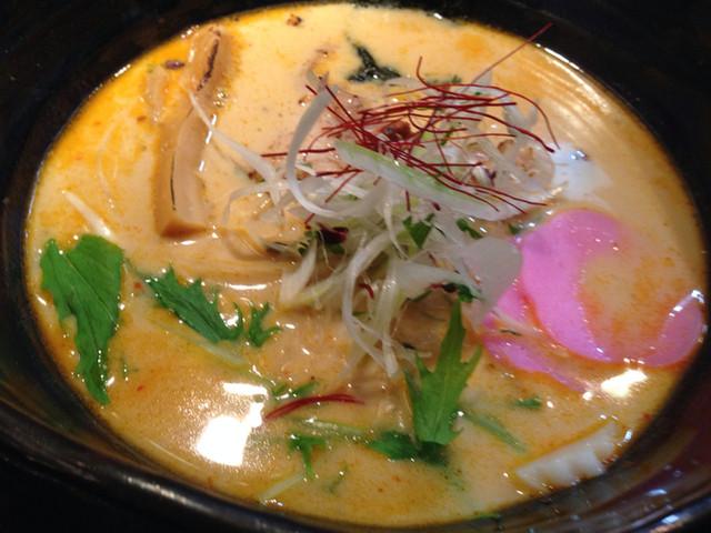近松 - 味噌白湯ラーメン 徳兵衛