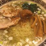 麺山 - 梅塩ラーメン 830円