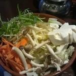27989934 - しゃぶしゃぶの野菜
