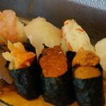 吉光  - 1950えん『おまかせ寿司1.5人前』2014.6