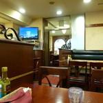 銀座ライオン - 2014.06 なぜかテレビが、、、NHKが流れてました:笑