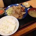 福徳食堂 - 斜めからぁ~!