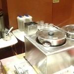 わっはっはっ風月 - ランチ カレー・ご飯・わかめの味噌汁がセルフサービス