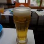 稲庭うどん処 佐藤養助 養心館 - 生ビールは、アサヒ