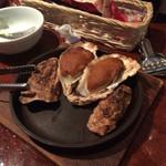 Oyster Bar ジャックポット - ウニ焼き!