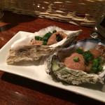 Oyster Bar ジャックポット - お通し佃煮