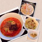 Chuukaryourikeikasarou - 坦々麺セット 激辛