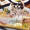 Suigetsu - 料理写真:イカとアジの活造り