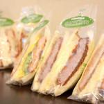 カフェサンドキッチン - テイクアウトのサンドイッチ!