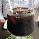 北上珈琲館 - アイスコーヒー500円。