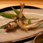 味 ふくしま - 稚鮎の塩焼き