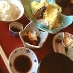 京料理 卯柳 - 限定10食 天ぷら定食☺︎