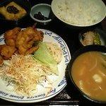 Kuchihacchoukazeyasugihara - 鶏唐揚げ定食