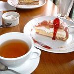 ブラフ・カフェ・モトヤ - 季節のタルト フィグとグレープフルーツ