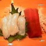 新橋 蛇の目寿司 - ねっとり美味しいタコと本鮪中トロのお刺身