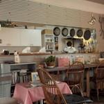 カフェ デ ルース - カウンター席