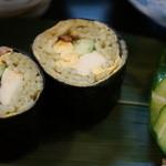 割烹 大力 - そば寿司、名物で定番です